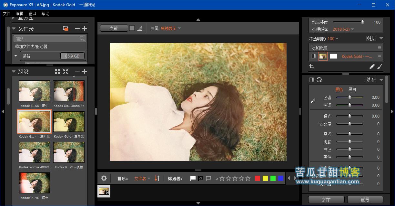 胶片滤镜 Alien Skin Exposure X5 V5.2.2.247 x64插图
